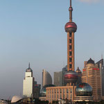 Oriental Perl Tower in Shanghai