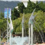 Esplanade in Cairns...