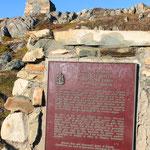 John Cabots ankunftsort in Neufundland