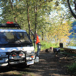 Dawson City Campingplatz