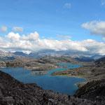 Summit Lake auf dem Pass