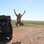 Endlich in der Mongolei