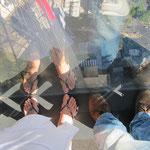 auf dem Ureka Tower...
