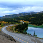 Lake Amerald ist gleich neben Caribou Crossing