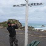 Wir nähern uns dem Südpol...