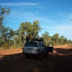 Roadtrip nach Boroloola (was auf der Strasse liegt darf man behalten)