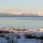 Die Insel liegt im Winterschlaf