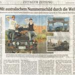 Sächsische Zeitung Sep. 2012