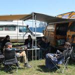 Campen vor der Immoigrationsbehörde in der Mongolei kein Problem