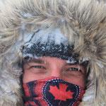 klirrende Kälte in den Bergen