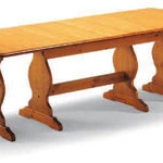 tavolo allungabile 160/250x90x4