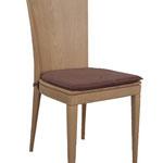 sedia fusto legno  Spalliera massiccia, sedile massiccio. Con maggiorazione di 10,00€, disponibile anche con sedile in vero cuoio o con cuscino imbottito aggiuntivo. (WOOD BACK AND SEAT. WITH AN