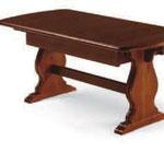 tavolo allungabile 190/370x90x4- T/700- H.75