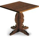 ART BC tavolo fratino di dimensioni 60x60 70x70 80x80 spessore tre in pino