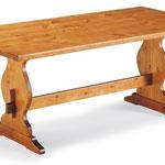 T 124  tavolo fratino 130x80x3   150x80x3  180x80x3 in pino