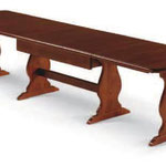 tavolo allungabile 190/370x90x4