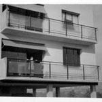 Photo Mme Masfrand - Bâtiment G en 1954