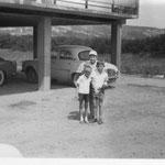 Photo Mme Masfrand -  Bâtiment G en 1956