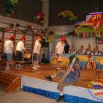 Die Gruppe Harzer Charme als Pinocchio's und Gepetto