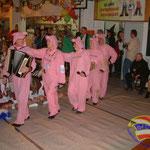 Die Stichelschweine....