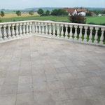 Terrasse ohne Gefälle