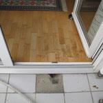 Undichtigkeit Balkon/Parkett