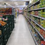 Rutschsicherheit in Lebensmittelmärkten
