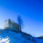 Waldburg im Winter