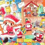 サンタさんのお仕事