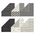 126926     Designerpapier Potpourri in Schwarz-Weiß    9,94 € statt 13,25 €