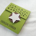 Eine schöne Teebeutelverpackung von Anke Ladage - ohne Blog!