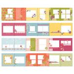 """MDS Download """"Floral District"""" Fotobuchvorlagen für 8x8"""" Alben - Preis 9,57 statt 15,95 €"""