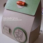 Auftragsarbeit zum Geburtstag eines Anglers! Gewünscht war eine Verpackung für einen Angelscout-Gutschein...