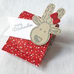 Schnell und hübsch verpackt - diese Rafaello-Verpackung von Anna Schmitz. Die muss ich mir unbedingt merken...