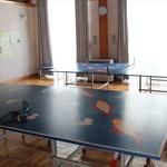 卓球場もありました。
