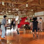 新井さんのジャンプ!形がきれいです。