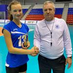 Ан6на Федотова - лучший нападающий