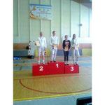 Второе место- Наталия Кириллова, третье- Анастасия Воробьева