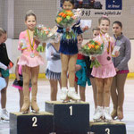 Belgisch Kampioenschap Miniemen Polina Syzdykov 3de plaats