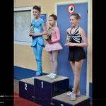 Skate Challenge Novice groep 2 Julie Mertens 3de plaats