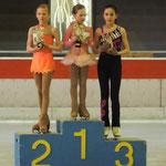 Miniemencup Luna Audenaert 3de plaats