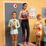 Skate Challenge Miniemen groep 2 Luna Audenaert 1ste plaats - Line De Graef 2de plaats