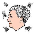 Christiane Nüsslein-Volhard illustriert von Katharina Gschwendtner