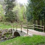 """Pont Lévaux dit """"Chez le Pâté"""""""