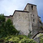 Rochefort - Chapelles latérales et clocher du XVII° siècle