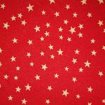 b5 rot - weiß Sterne groß und klein