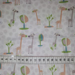K1 weiß mit Giraffen