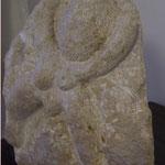 Frau Promethea,  h 30 cm, St. Margarethner Sandstein, 2008