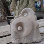 Vielgestalt h 35 cm, Istrischer Marmor, 2016