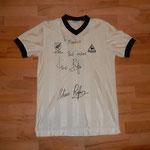 Getragen und signiert von Wynton Rufer, Werder Bremen - mitsigniert hat sein Bruder Shane...